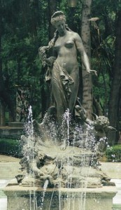 """""""Aphrodite fountain"""" by Doctor_Doomsday (talk) (Uploads) - Own work. Licensed under Public Domain via Wikipedia."""
