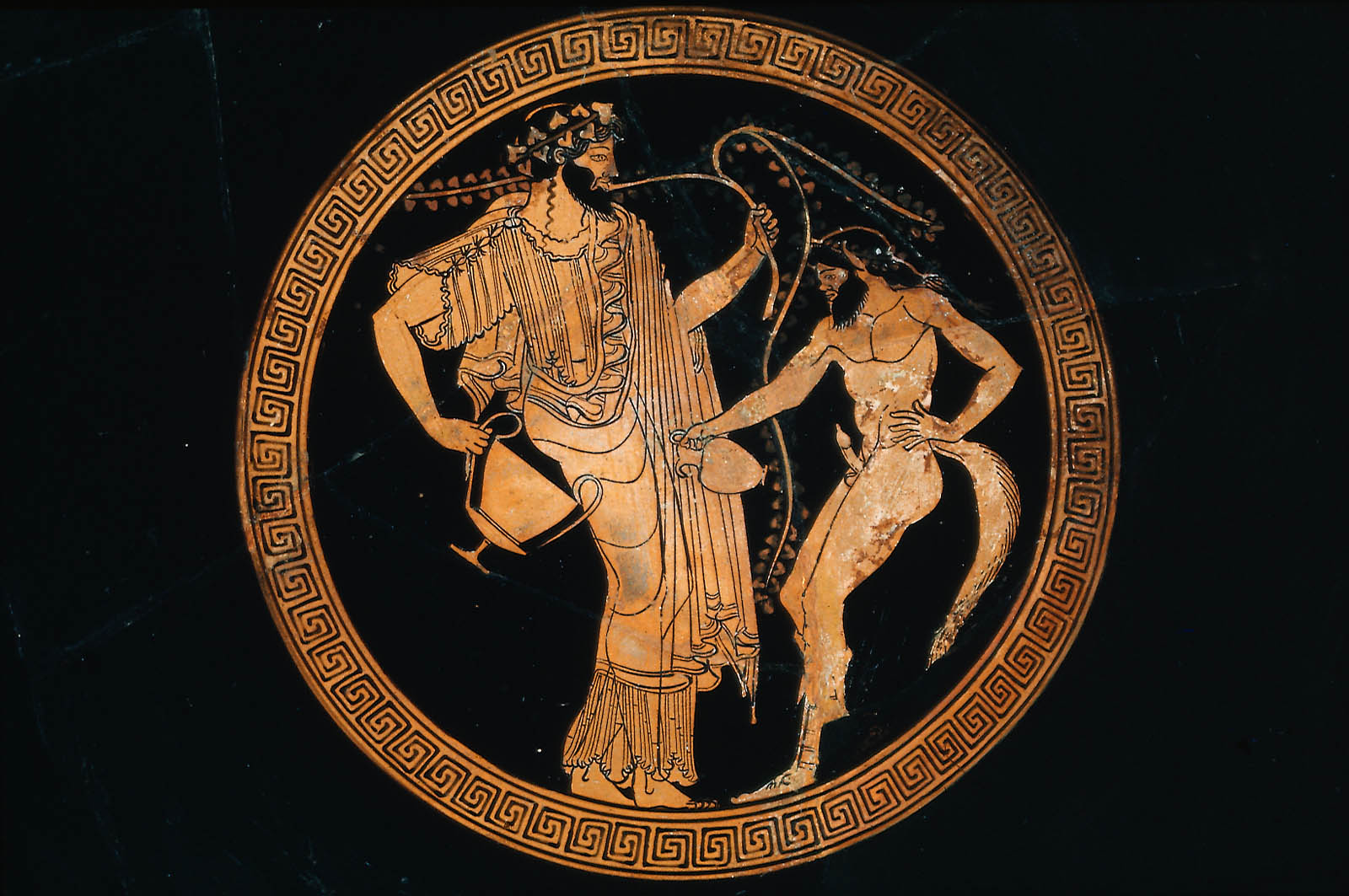 Turning creek page 2 a wandering eyre a greek vase depicting a satyr with dionysus biocorpaavc Gallery