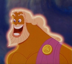 Zeus from Disney's Hercules.