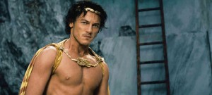 Luke Evans as Zeus in the Immortals