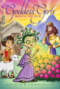 There is a whole goddess series of books for girls and Medusa is featured in one.