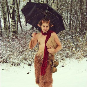 Mr. Tumnus from The Lion, the Witch, and the Wardrobe.