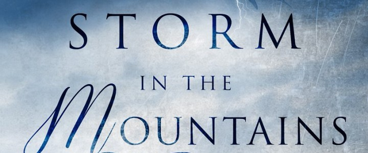 The cover of Storm in the Mountain won a gold star…