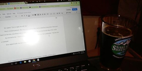 I am #writing. Dora is getting a talking to from I…